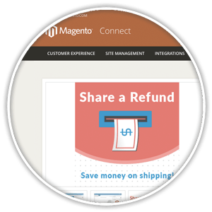 magento connect extension detail view