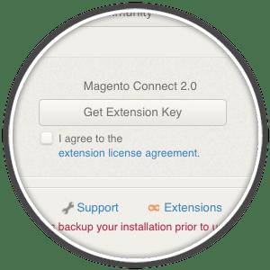 magneto get extension key